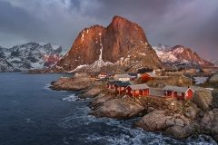 Last Light at Hamnoy